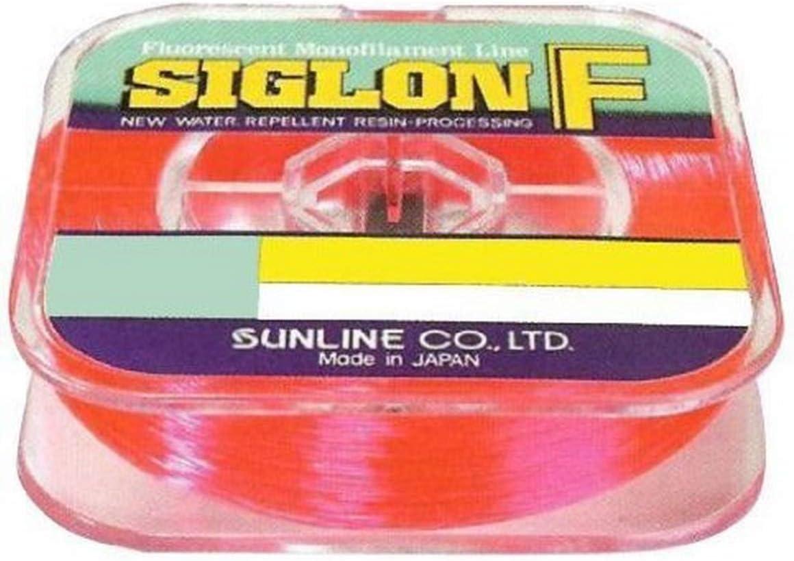 Sunline 63000620 Siglon F latest Fluorescent Fishing Line Pink Brand Cheap Sale Venue lb 27