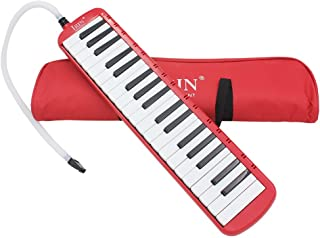 ammoon 37 Piano Keys Melodica Pianica Musical Instrument with Carrying Bag for Students Beginners Kids