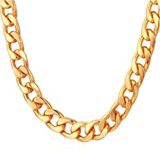 Best thick gold chain necklace for womens Reviews