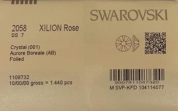 7ss Crystal AB 1440 SWAROVSKI Flatback Rhinestones Wholesale FULL Pack