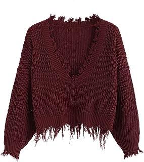 Damen Pullover Pulli mit Muster Wollweiß Schwarz