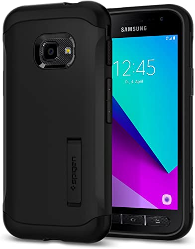 Spigen Slim Armor Case Compatible with Samsung Galaxy Xcover 4 and Galaxy Xcover 4s - Black