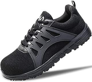 Walkchic Work Steel Toe Shoes Men's Lightweight Breathable