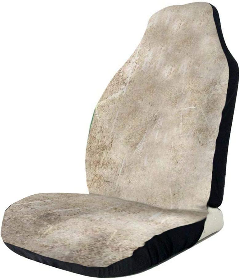 Vintage Aged Irish Flag Grunge Car Seats F Albuquerque Mall Front Cover New products, world's highest quality popular! Only Seat