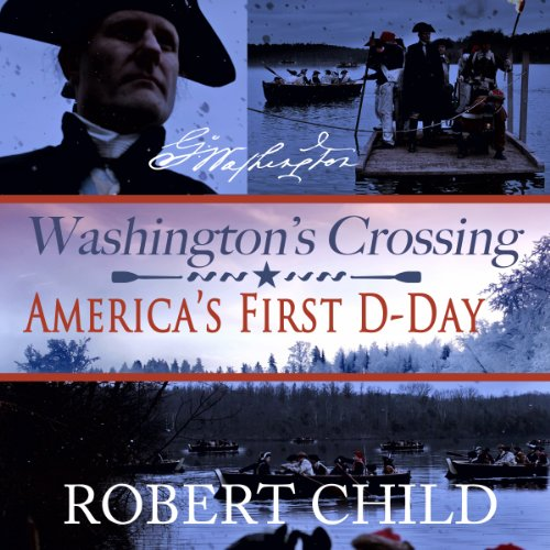 Washington's Crossing audiobook cover art