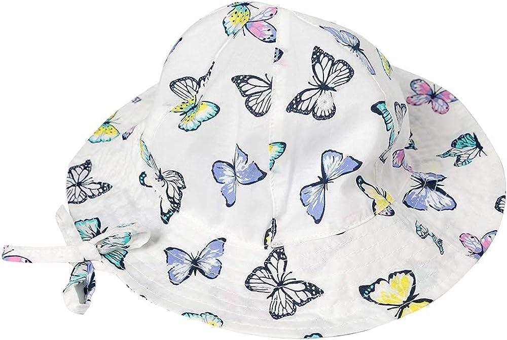 Baby Girl Sun Hat - Wide Strap Hats New life Adjustable Discount is also underway Bucket with Brim