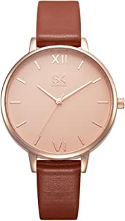 SK Dress Watch For Women Analog Leather - K0039