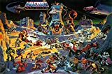 MCPosters - Masters of The Universe He-Man Cartoon TV Show Series Poster Glossy Finish - TVS821 (16' x 24' (41cm x 61cm))