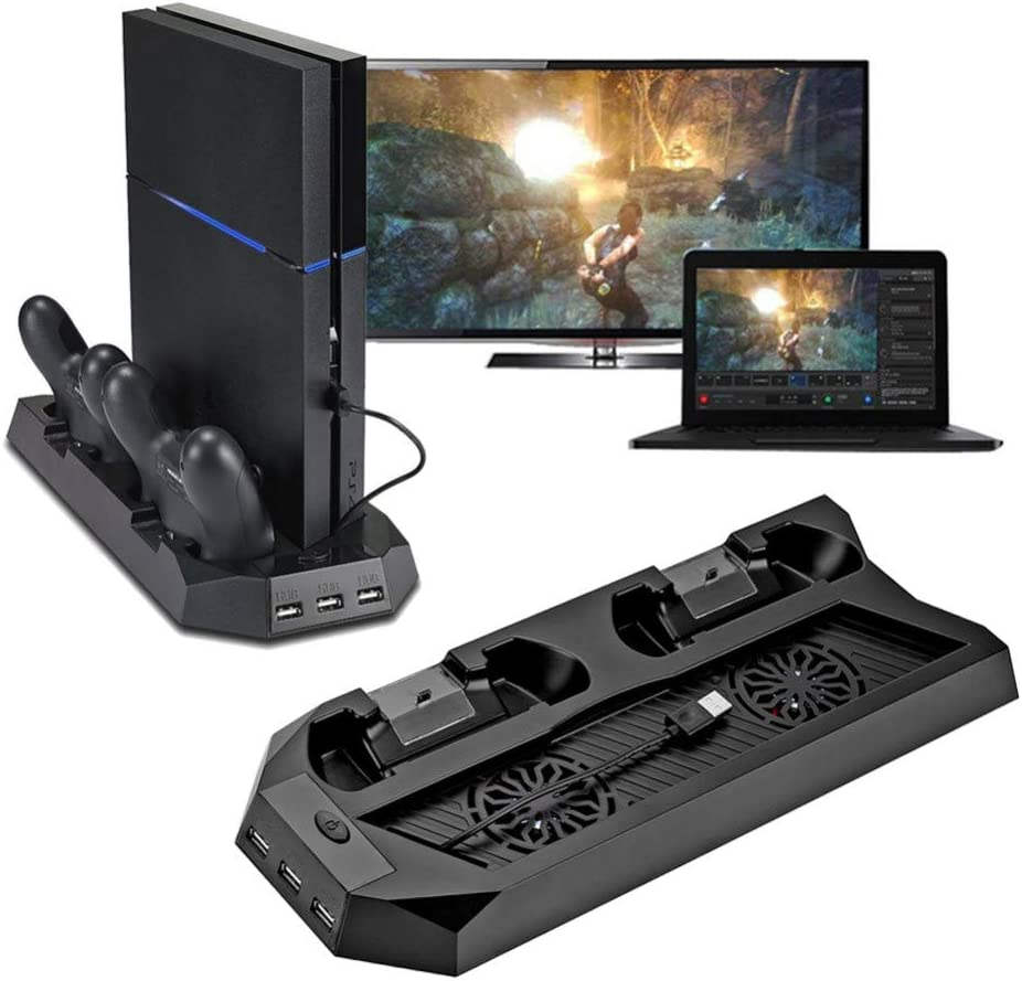 HPH Topics on TV Charging Station Popular popular for PS4 Wireless Vertical Stand Controller
