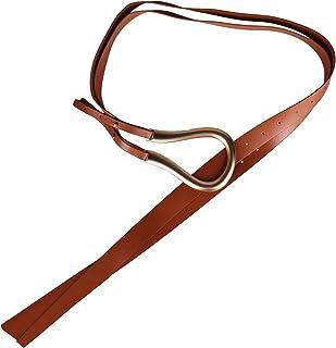 Sponsored Ad - segolike Fashion Leather Waistband Girdle High Waist Belt Adjustable Cummerbunds