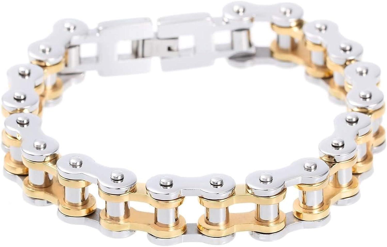 Epinki Titanium Steel Men Challenge the lowest price of Topics on TV Japan ☆ Charm Bracelet Cha Bicycle Gold Silver