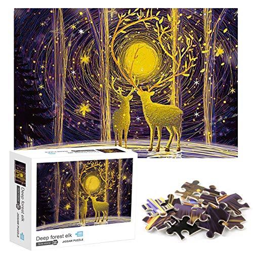 1000 Teile Jigsaw Puzzle,Karton Puzzle,Klassische Puzzles,Puzzle Kreative Erwachsene,Puzzle Pädagogisches,Geschicklichkeitsspiel für die Ganze Familie