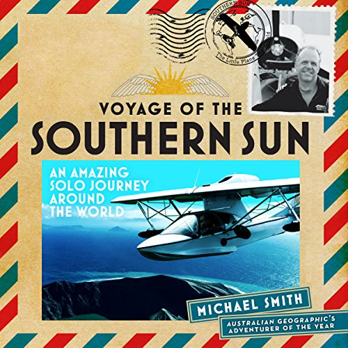 The Voyage of the Southern Sun audiobook cover art