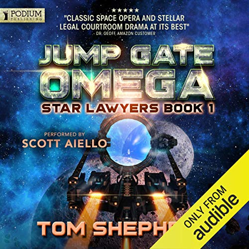 Jump Gate Omega audiobook cover art