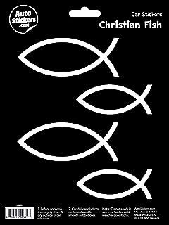 WMI Designs (9600) Christian Fish Stickers
