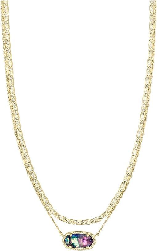 Gold Lilac Abalone