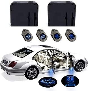 2 x LED Logo Light Ghost Shadow Projector Car Door Courtesy Laser DODGE Ram (blue) (blue)