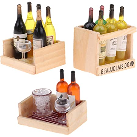 Dolls House Miniature Food Drink Wine Cup Bottle Jam Jar Cake Accessory 1:6 1:12