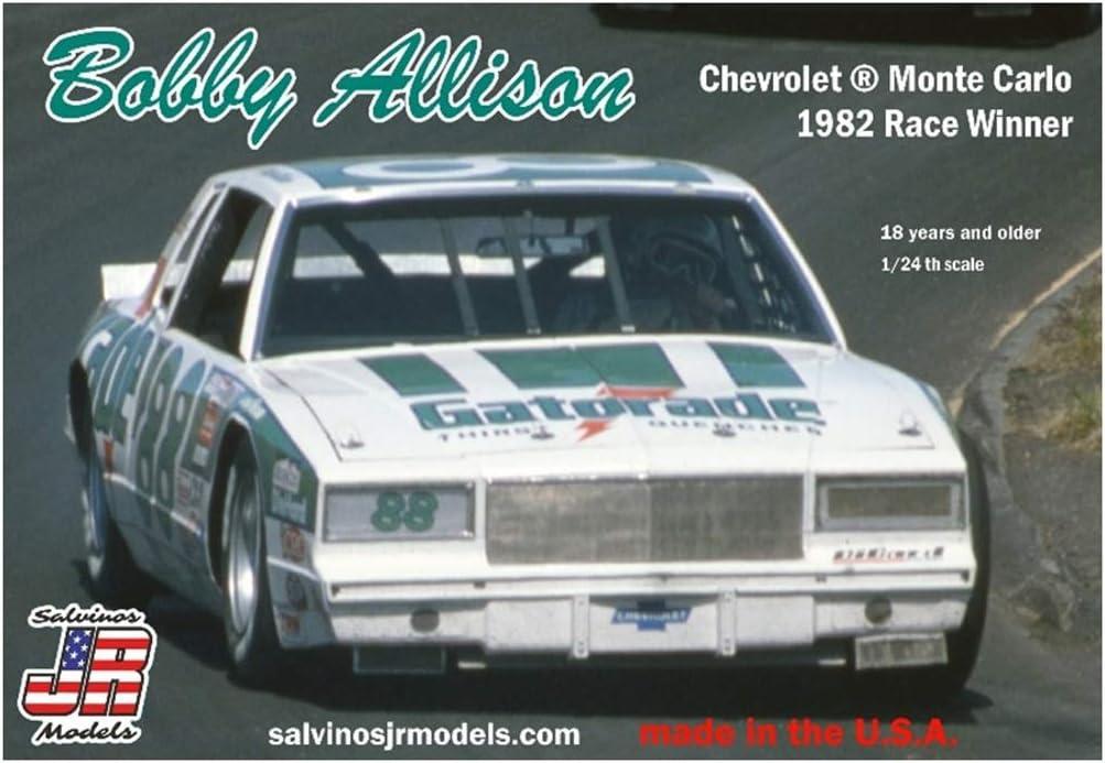 Salvinos JR Models Limited price Bobby Allison car Race Under blast sales Winne Monte 1982 Carlo