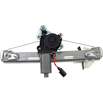 Dorman 741-372 Rear Driver Side Replacement Power Window Regulator with Motor for Lincoln LS