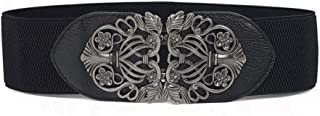 Chicwe Women's Vintage Plus Size Waist Belt Elastic Stretch 1X-4X