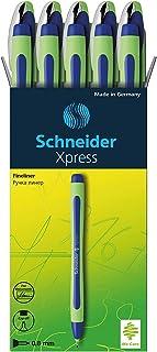 Schneider Pen, XPRESS, 0.8 mm, Pack of 10, Blue (190003)