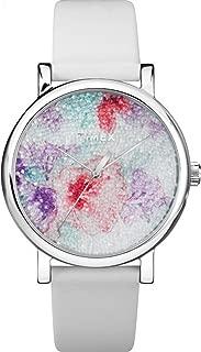Women's Crystal Bloom Swarovski Fabric Dial 38mm Watch