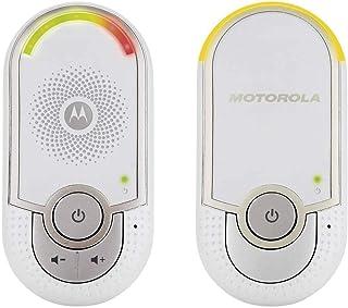 Motorola MBP 8 - Vigilabebés Audio Plug-N-Go con Modo Eco y Luz Nocturna Color Blanco