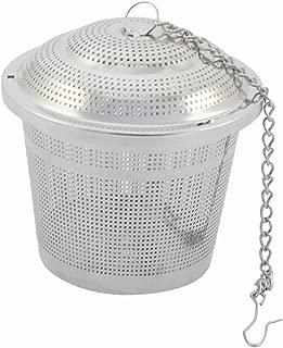 uxcell ボール茶漉し ストレーナー 家庭台所用品 ステンレススチール製 調味料 スパイス茶注入器 フィルタ