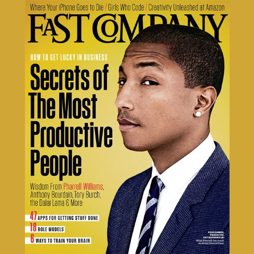 Audible Fast Company, December/January 2013 audiobook cover art
