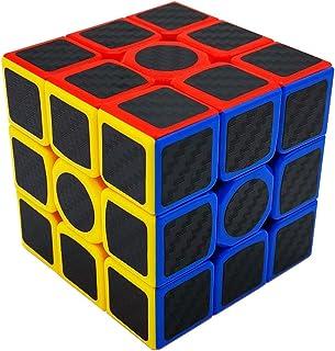 CHuangQi Original Cube, Magic Cube Puzzles (3x3) with Carbon Fiber Anti-Slip Stickers, Anti-Pop Structure, Speed & Smooth