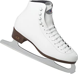 Riedell 15 Girls White Figure Skates