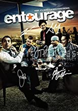 Large Entourage TV Print By Cast Jeremy Piven, Kevin Connolly, Jerry Ferrara, Kevin Dillon, Adrian Grenier (11.7