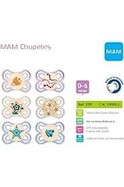 Mam Perfect Chupete 0-6 Meses silicona esterilizaci/ón Box azar colores mezclados