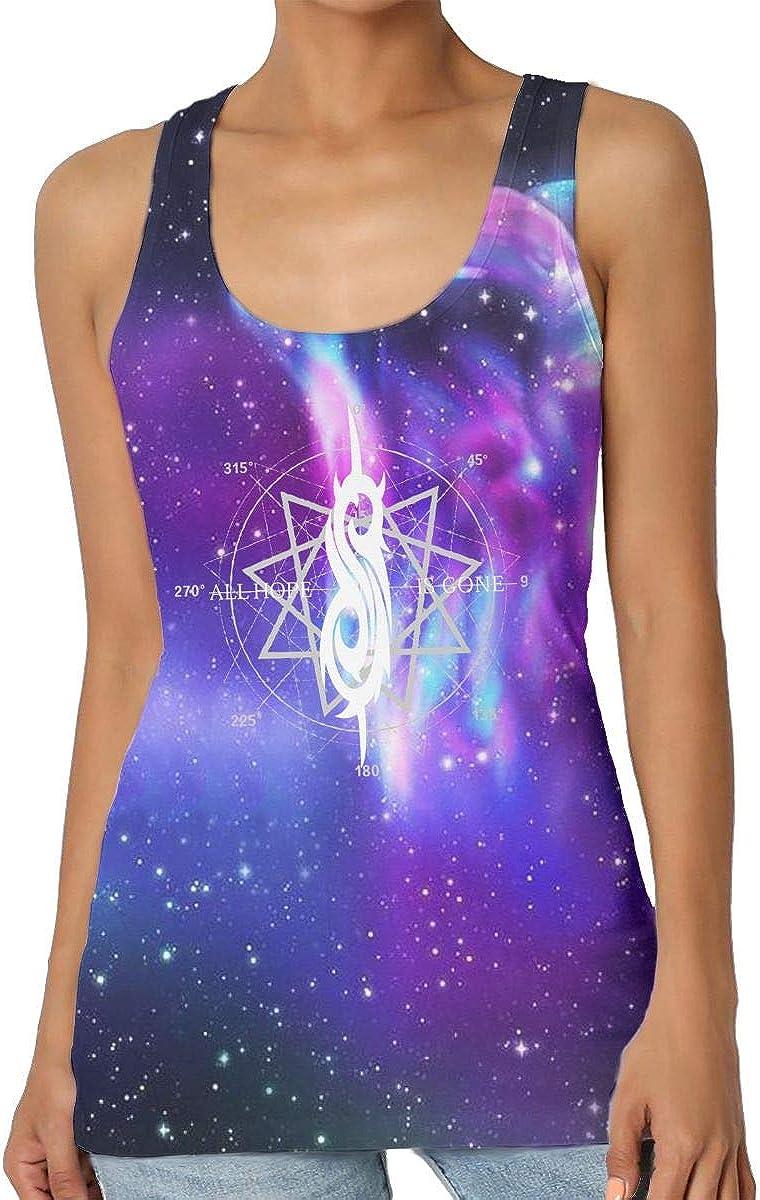 Slipknot All Hope Star Camiseta sin Mangas para Mujer Cuello ...