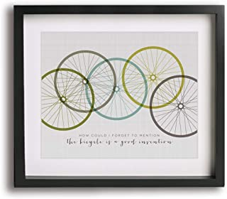The Bicycle Song by Red Hot Chili Peppers inspired song lyric art print gift idea