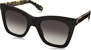 Marc Jacobs Women's Square Havana Frame Sunglasses