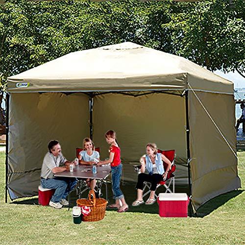 Zhyaj Gazebo all Seasons Gazebo 3 X 3M - 100% Waterproof Party Tent Marquee - Protezione UV Pop-Up Gazebo - con Borsa da Trasporto