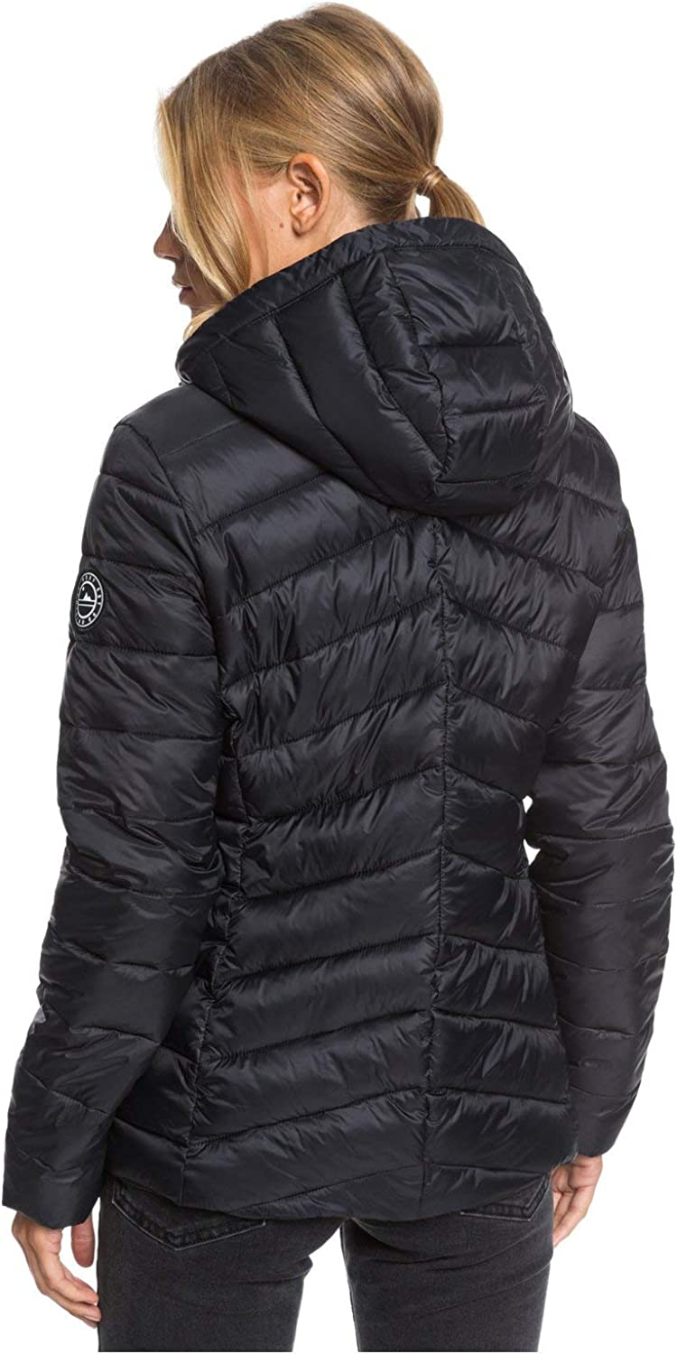 Water-resistant Lightweight Packable Padded Jacket for Women Water-resistant Lightweight Packable Padded Jacket Roxy Womens Coast Road