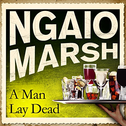 A Man Lay Dead cover art