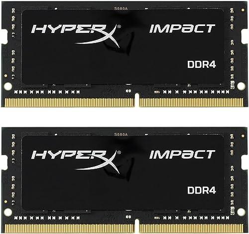 HyperX Impact HX426S15IB2K2/32 Mémoire 32Go Kit*(2x16Go) 2666MHz DDR4 CL15 SODIMM
