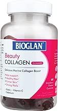اقراص مضغ بالكولاجين من بيوجلان | 1000 مجم | كولاجين بحري متحلل | البيوتين والسيلينيوم وفيتامين C | بنكهة الفراولة | 60 لكل عبوة