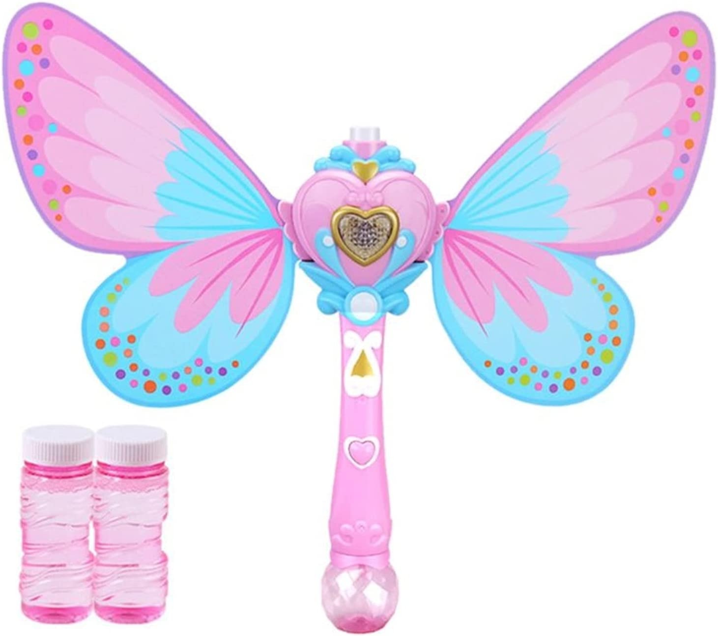 LUBINGT Princess Wand Free shipping anywhere in the nation Bubble Outlet ☆ Free Shipping Machine Kids Bu Magic Handheld