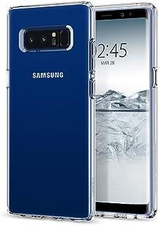 جالكسي نوت8 , Galaxy Note 8 , كفر من سبيجن ليكويد كريستال - كريستال شفاف