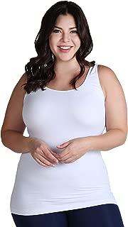 Women Seamless Premium Classic Tank Top, Made in U.S.A, Plus Size