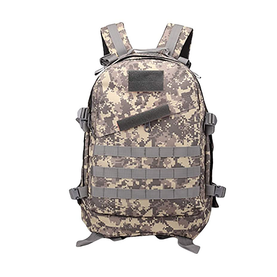 農村ピア差し迫ったバックバック リュックサック Kenoua バックパック トレッキングのためのホット3Dアウトドアスポーツ多機能軍事戦術バックパックデイパックバッグ 旅行リュックサック スポーツバッグ