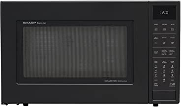 Sharp Convection Microwave Oven SMC1585BB - Combination - 11.22 gal Capacity - Convection, Microwave, Roasting, Baking, Browning - 10 Power Levels - 900 W Microwave Power - 15.40