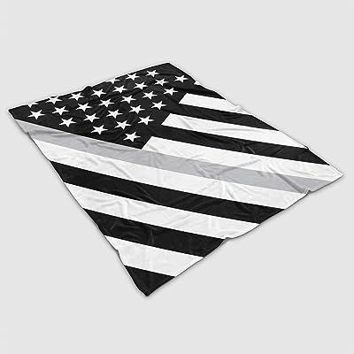 Thin Line Blankets - US Flag Angled