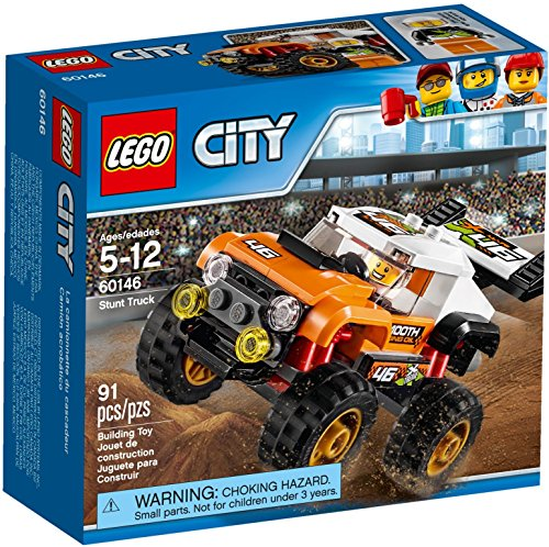 LEGO 60146 Great Vehicles Veicolo Acrobatico, Set di 91 Pezzi