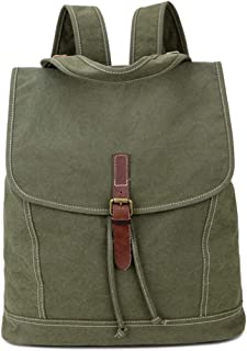 Mens Bag Canvas With Leather Shoulder Bag Retro Handbag Shoulder Bag The First Layer Of Crazy Horse Bag High capacity